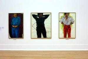 Claudette Johnson, Trilogy, 1982-86.